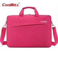 COOLBELL 14 Laptop Briefcase Notebook Shoulder Sleeve Messenger Bags Men Women Handbag For Macbook Laptop Case