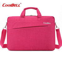COOLBELL 14 Laptop Briefcase Notebook Shoulder Sleeve Messenger Bags Men Women Handbag For Macbook Laptop Case