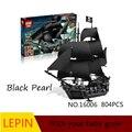 Горячие Строительные Блоки Лепин пираты карибского моря 16006 Обучающие Игрушки Для Детей Лучший подарок на день рождения Декомпрессии игрушки