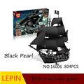 Hot Building Blocks Lepin Pirates of the Caribbean 16006 Educational Toys For Children Best birthday gift Decompression toys