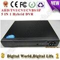 4CH AHD/TVI/CVI/CVBS/IP gravador de vídeo Digital DVR HVR NVR AHD 1080NH, apoio cctv analógico/ahd/cvi/tvi/1080 p Câmera ip onvif
