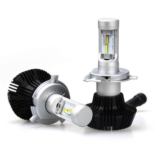 50W 8000LM Car LED Headlight bulb 6500K Car Auto H4 hi/lo H7 H8 H9 H11 9005 9006 LED fog headlight Auto Replacement Parts