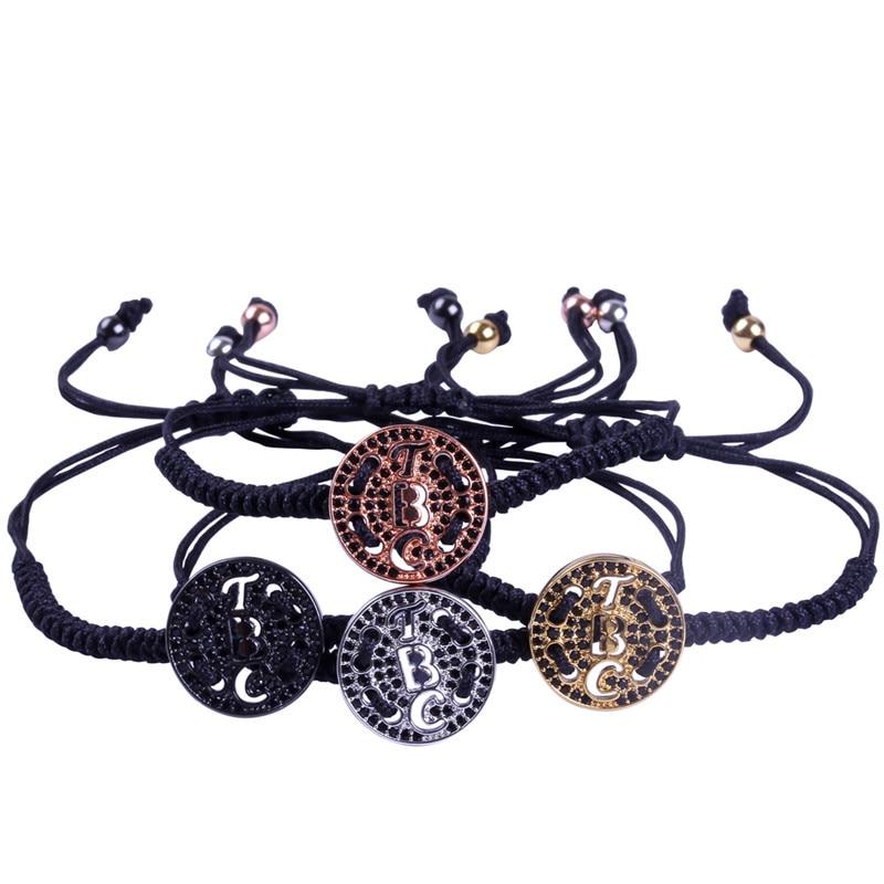 Anil Arjandas Woman And Men Bracelet Round Saint Charm Macrame Braiding Bracelets Friendship Gift Fashion Jewelry
