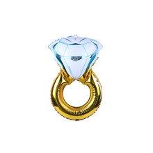 Wedding Decoration   Big Diamond Ring Inflatable Foil Balloons