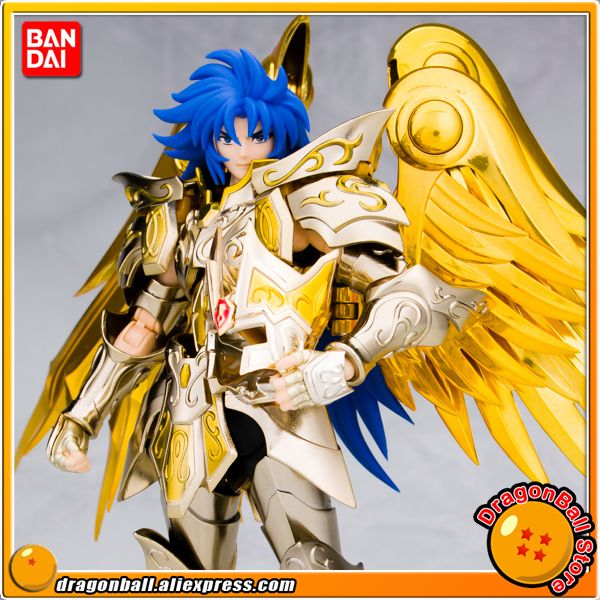 Anime Saint Seiya: Soul of Gold Original Bandai Tamashii Nations Saint Cloth Myth EX Action Figure - Gemini Saga (God Cloth) horizon elephant reprap prusa mendel i3 smooth rod screw rod screw kit for diy 3d printer