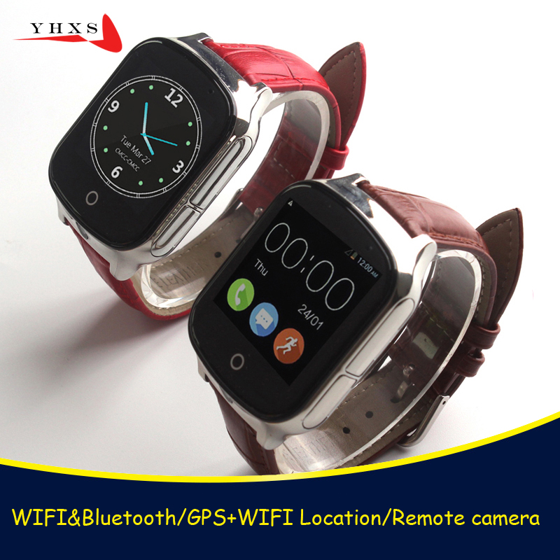 2018 New Smart 3G WCDMA Remote Camera GPS WIFI Location Tracker SOS Monitor Child Elder Kids Watch Wristwatch 1.54 Touch Screen smart remote camera gps lbs wifi location 1 54 touch screen kid elder child 3g sos call monitor tracker alarm watch wristwatch