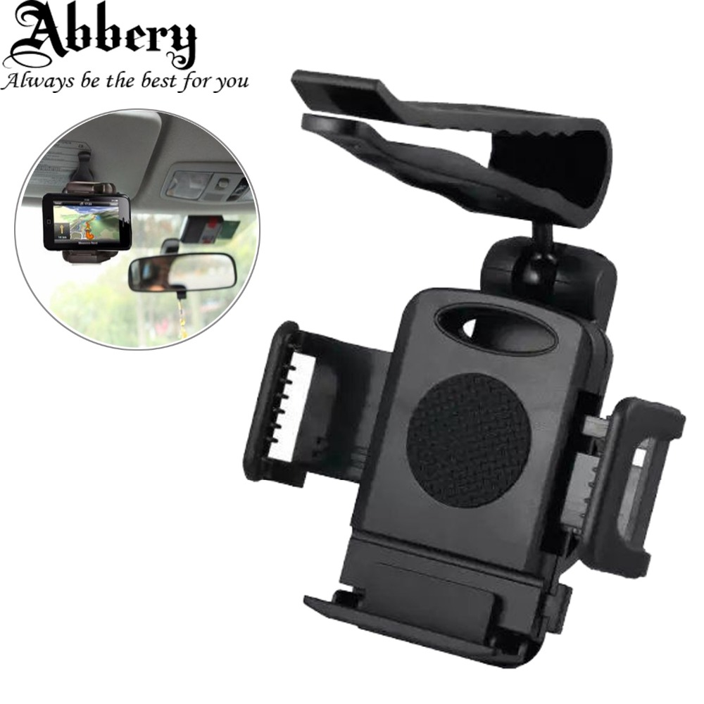 Car rearview mirror mount holder car reviews - Abbery Universal Support 360 Degrees High Quality Car Rearview Mirror Mount Holder Stand Cradle For Xiaomi