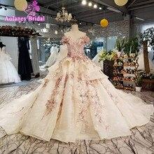 Robe de mariée luxe sans manches longue  ...