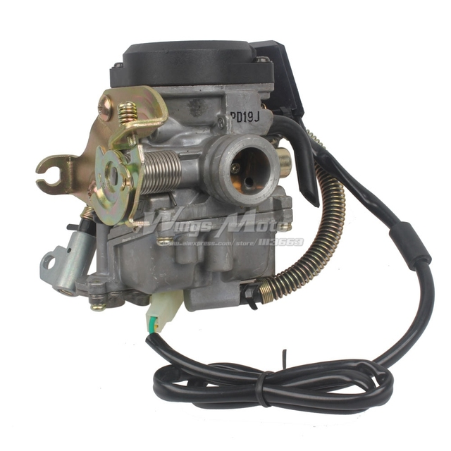 PD18 Carburetor GY6 Moped Scooter 139QMB BAJA JONWAY LANCE BMX