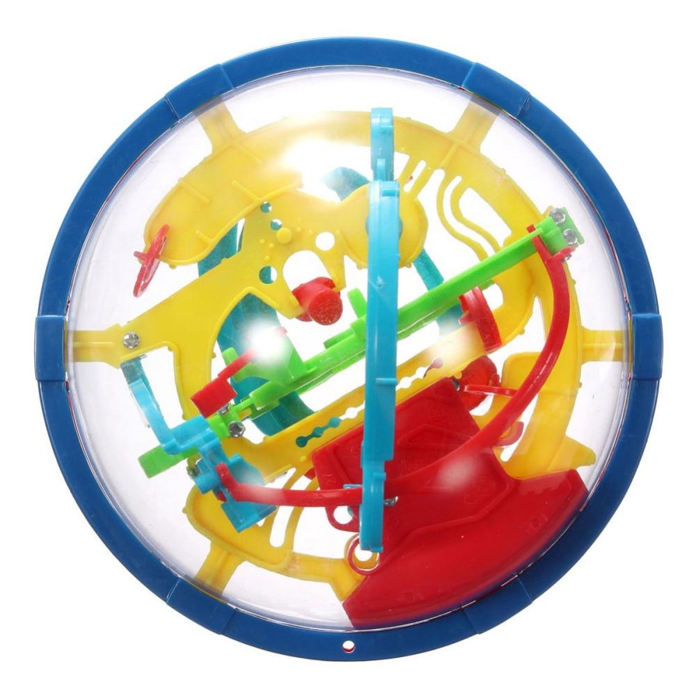 YKLWorld Terbaru Menyenangkan 3D Labirin Bola Intelektual Bola Anak - Permainan dan teka-teki - Foto 5