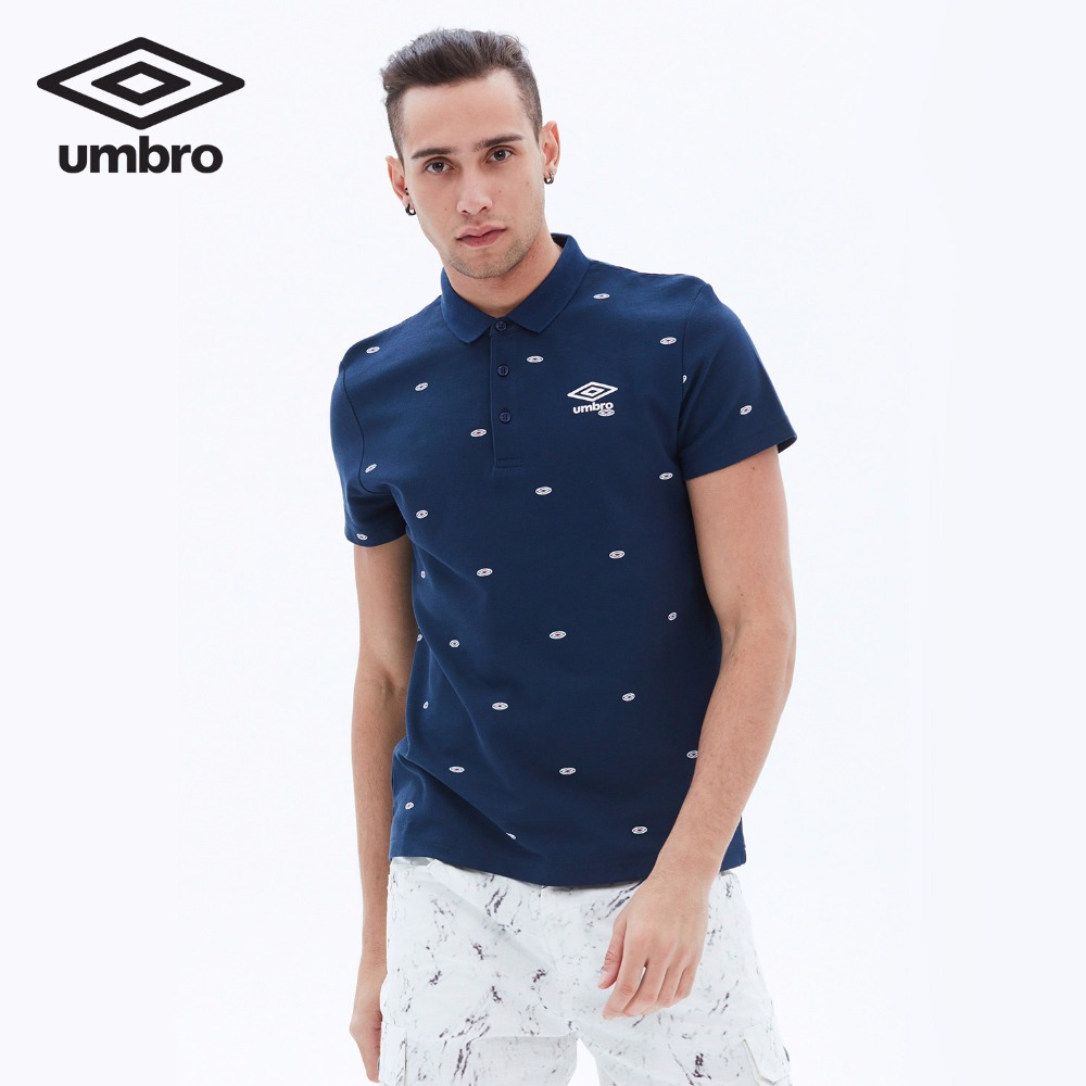 dee89acd Umbro Men New Summer Short Sleeve Polo Shirt Sports T shirt Sportswear  Tracksuit T shirt Tee Tops UCC63101-in Trainning & Exercise T-shirts from  Sports ...