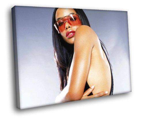 Aaliyah Dana Haughton Hot R&B Music Art Huge Print Canvas Poster TXHOME D5043