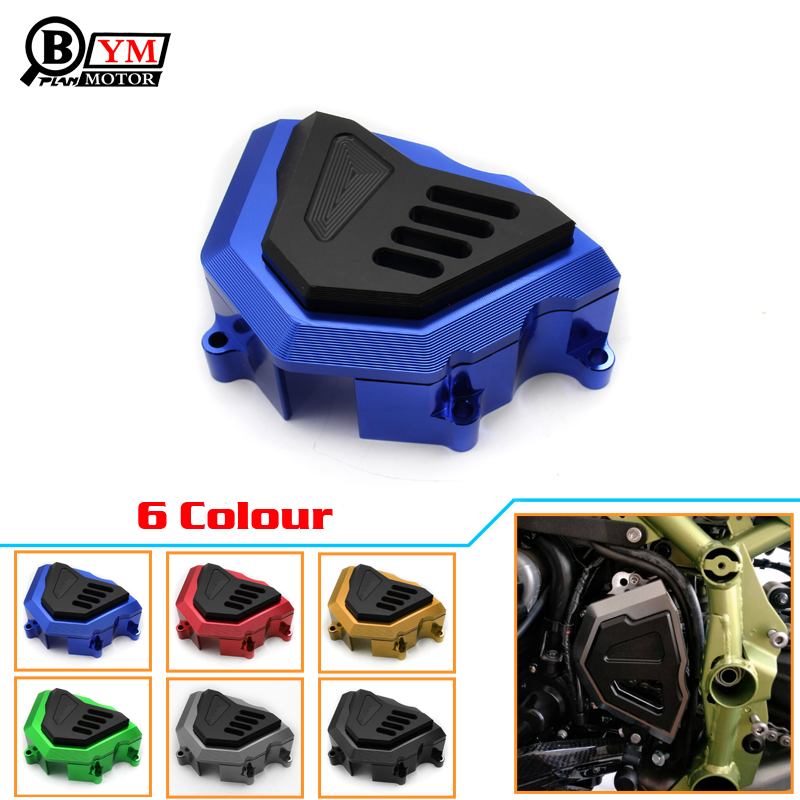 Motorcycle Front Sprocket Chain Guard Cover Engine For Kawasaki Z900 2017 1 set front and rear sprocket chain