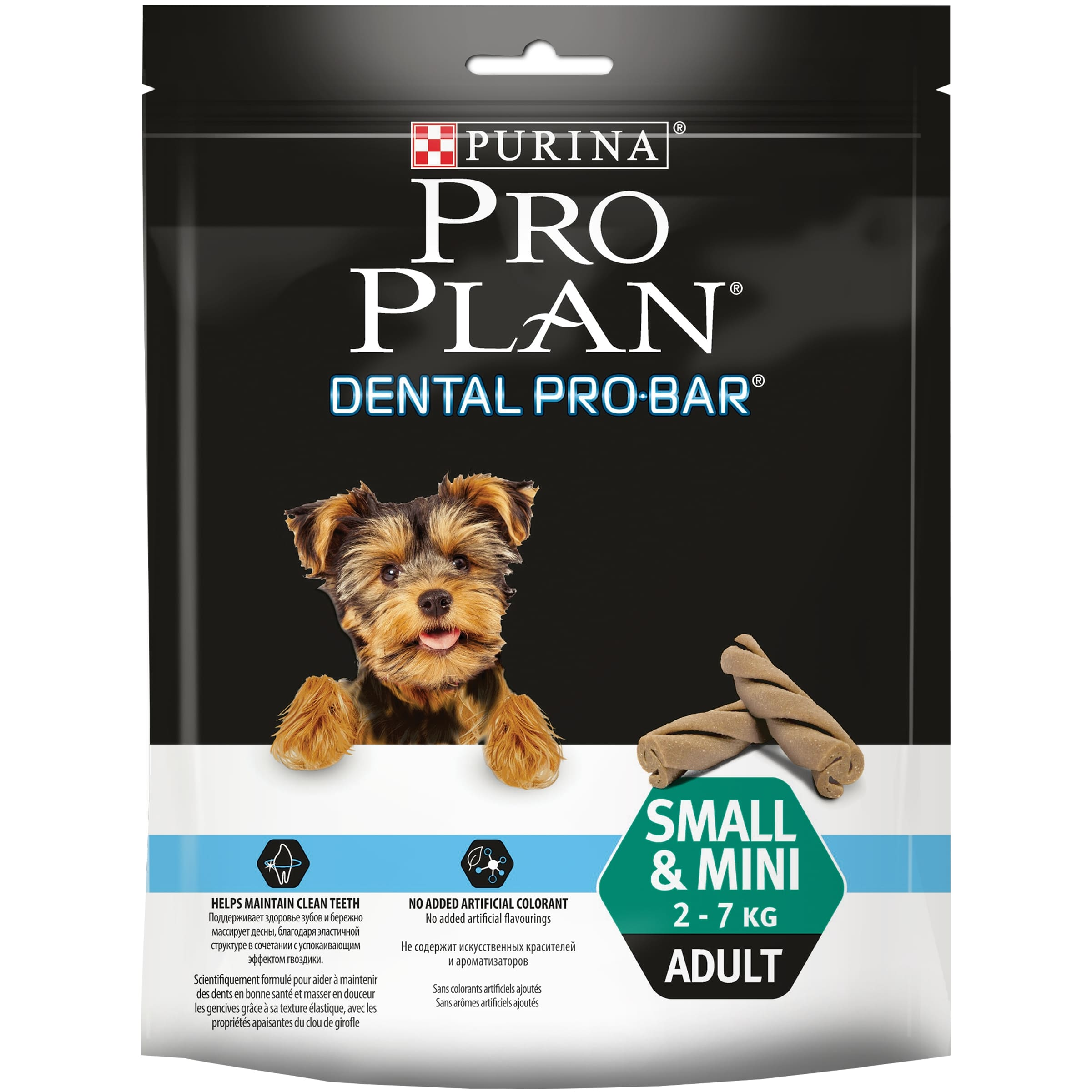 Delicacy PRO PLAN Dental Pro Bar S&M for maintaining oral health of dogs of small and dwarf breeds, 150 g