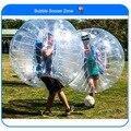 Frete Grátis, 0.8mm PVC 1.5 m Air Bumper Ball Corpo Zorb Bola Bolha de futebol, Bolha de Futebol Bola Zorb Para Venda, bola Zorb