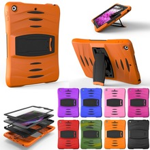 For Samsung Galaxy Tab A a6 10.1 SM-T580 T585 T580N Assembly Heavy Duty Cover Shock Proof Tablet Silicone Hard Case Stand Case цена