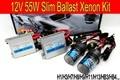 Envío de la Alta calidad 12 V 55 W ocultó el kit del xenón H1 H3 H7 H8 H9 H11 9005 9006 4300 K 6000 K ocultó el kit del xenón para todos faro