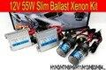 O envio gratuito de Alta qualidade 12 V 55 W kit hid xenon H1 H3 H7 H8 H9 H11 9005 9006 4300 K 6000 K escondeu kit xenon para todos os farol