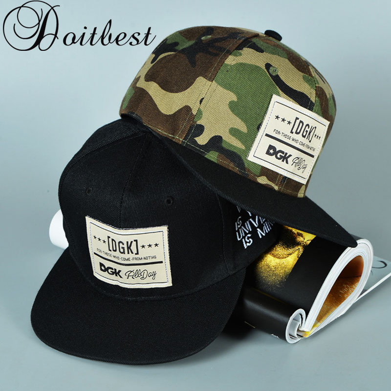 Detail Feedback Questions about Brand DGK Hip Hop women flat Baseball Cap  Camouflage Summer men s Gorras lover s snapback Caps suit for TEENS Adults  on ... b43126ac50e