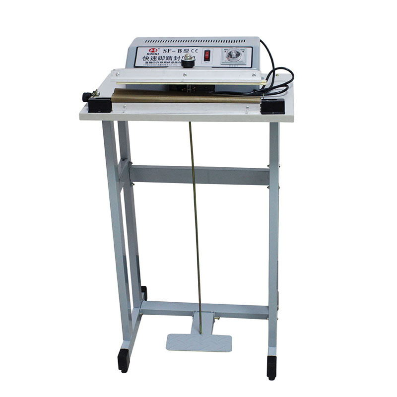 SF-300 Pedal sealing machine for plastic bag with the knife cutting function , Pedal Impulse Plastic bag SealerSF-300 Pedal sealing machine for plastic bag with the knife cutting function , Pedal Impulse Plastic bag Sealer