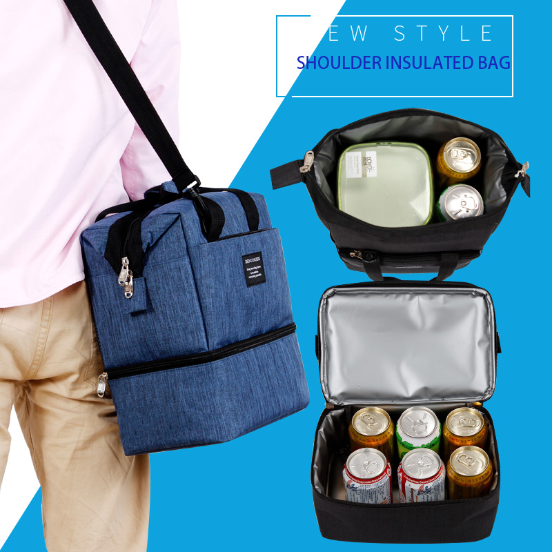 5beae49aded1 DENUONISS Beer Storage Fresh Keeping Cooler Bag for Adults Portable ...