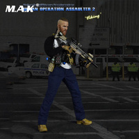 1/6 Scale Full Set Figure 1:6 Military 26016 PMC Urban Operation Assaulter 2 Viking Collection Action Figure for Fans Gift