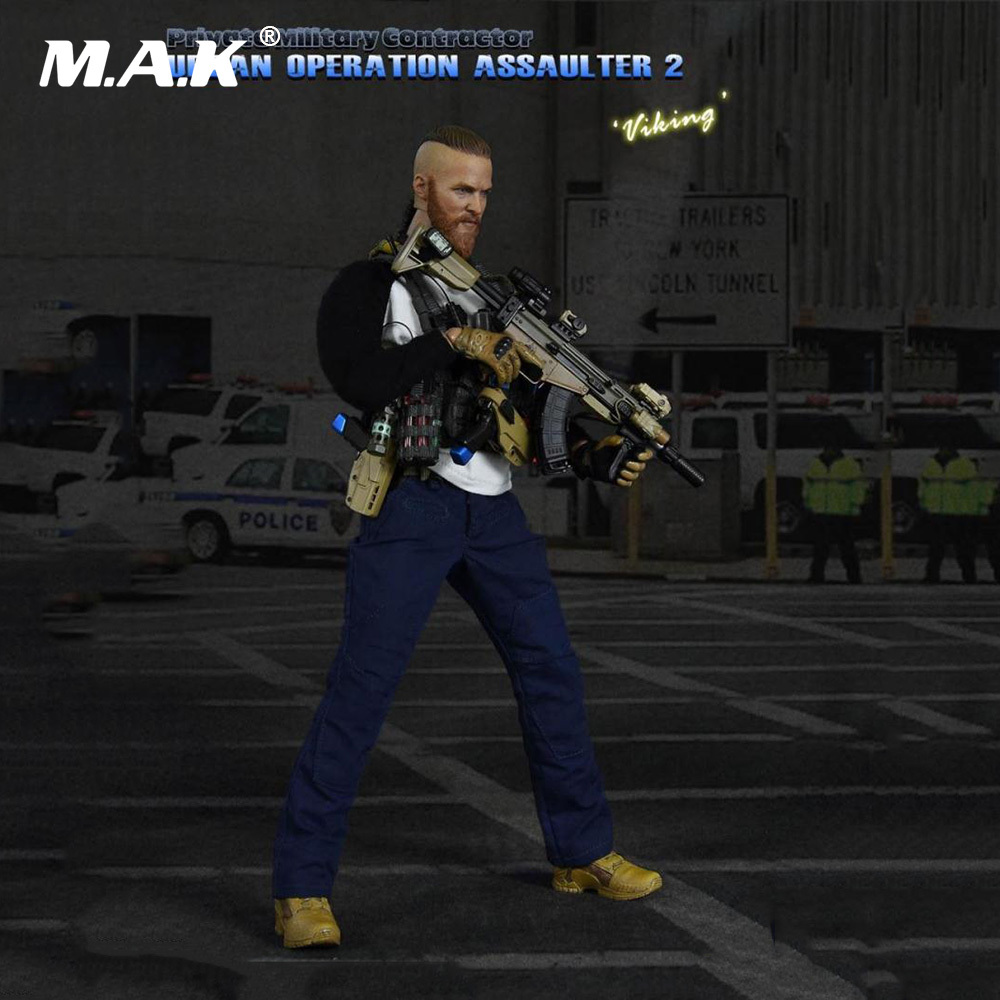 1/6 Scale Full Set Figure 1:6 Military 26016 PMC Urban Operation Assaulter 2 Viking Collection Action Figure for Fans Gift in stock al100019 1 6 full set military soldiers action figure model wwii royal air force pilot figure toy for collection gift