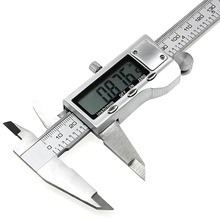 Buy online 1 PC New  150mm/6-inch hardened Stainless Steel Electronic Digital Vernier Caliper Micrometer With Box E3372  T50