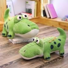 50/65 Cm Crocodile Plush Toy Stuffed Animal Crocodile Alligator Cotton Pillow Plush Toy For Children