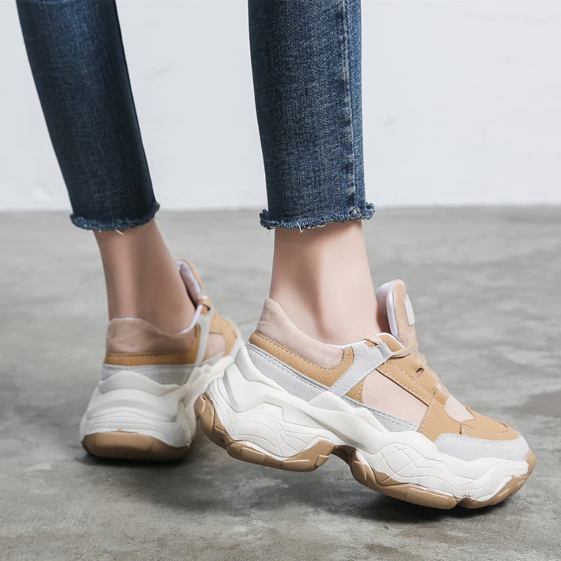 Women Sneakers Spring New Women Shoes Flats Platform Lace-Up Fashion Breathable Women Casual Shoes Woman zapatos de mujerWomen Sneakers Spring New Women Shoes Flats Platform Lace-Up Fashion Breathable Women Casual Shoes Woman zapatos de mujer