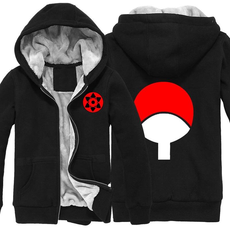 ✓Anime Naruto uchiha sasuke cosplay cardigan zipper moletom com . 363684394a3d0