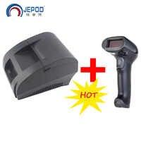 JP-5890k 58mm Black Thermal Receipt Printer 58mm Thermal Printer 58mm USB POS Printer for POS System