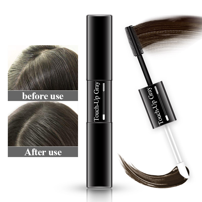 Temporary Hair Dye 2 in 1 applicator hair color brush and comb DIY Hair Color Wax Mascara Dye Cream sevich <font><b>3</b></font> colors factory sell image