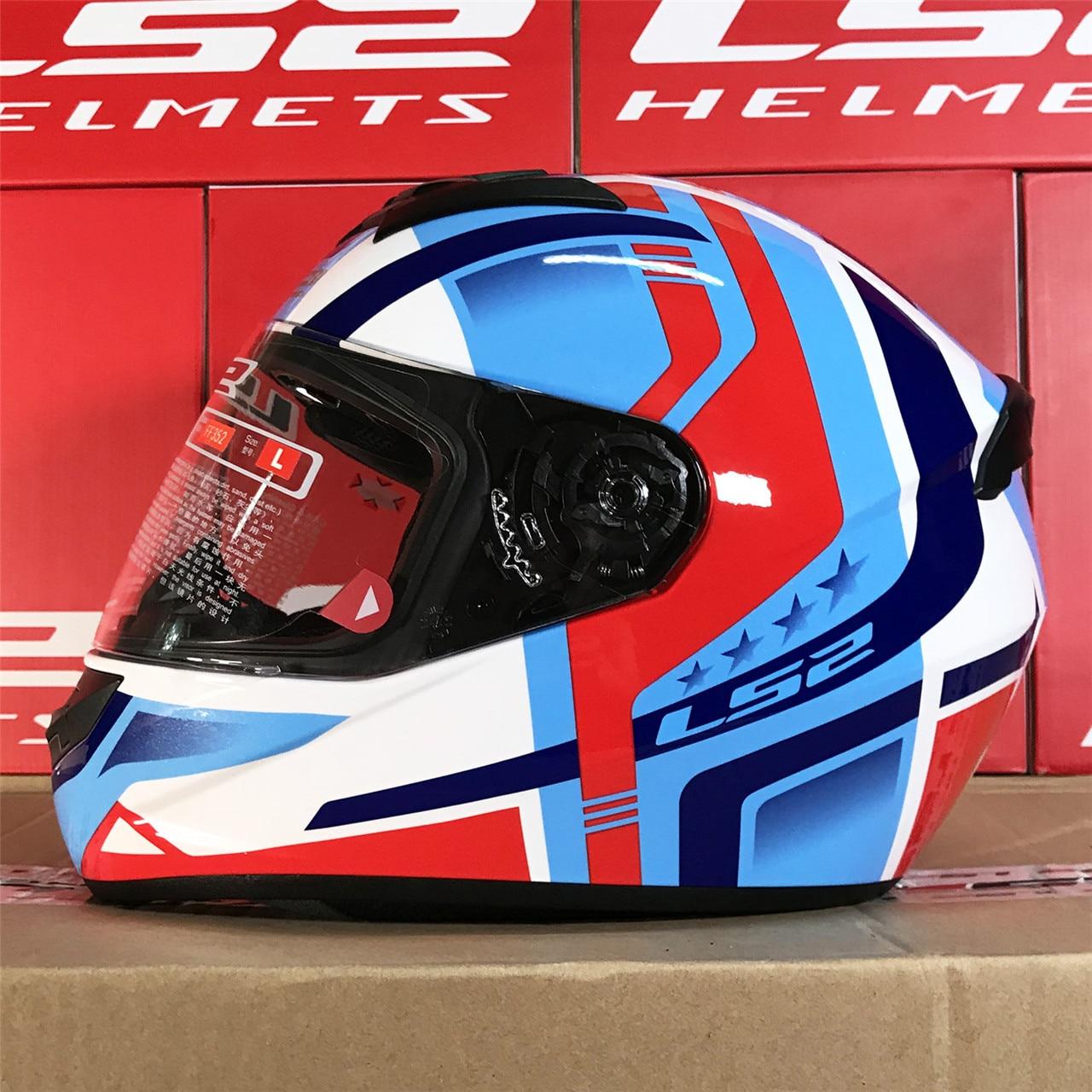 LS2 Moto casque intégral FF352 Recrue homme femme Casques Capacetes Moto Cascos Taille M L XL XXL