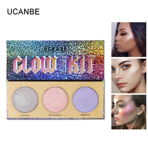 UCANBE Brand 3 Color Chameleon Highlighter Makeup  ...