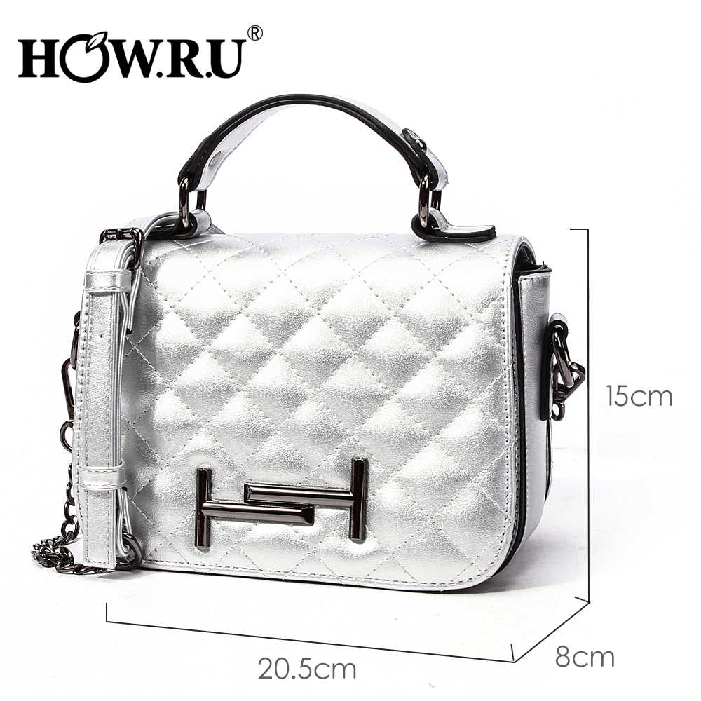 96e2f5e3cf ... HOWRU Luxury Diamond Plaid Handbags Designer Women Shoulder Bag 2019 New  Soft PU Leather Elegant Ladies ...