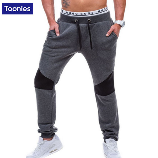Casual Sportswear Sweatpants Men Full Length Hip Hop Street Pants Male Trousers Spring Summer Brand Clothing 2017 Pants Homme