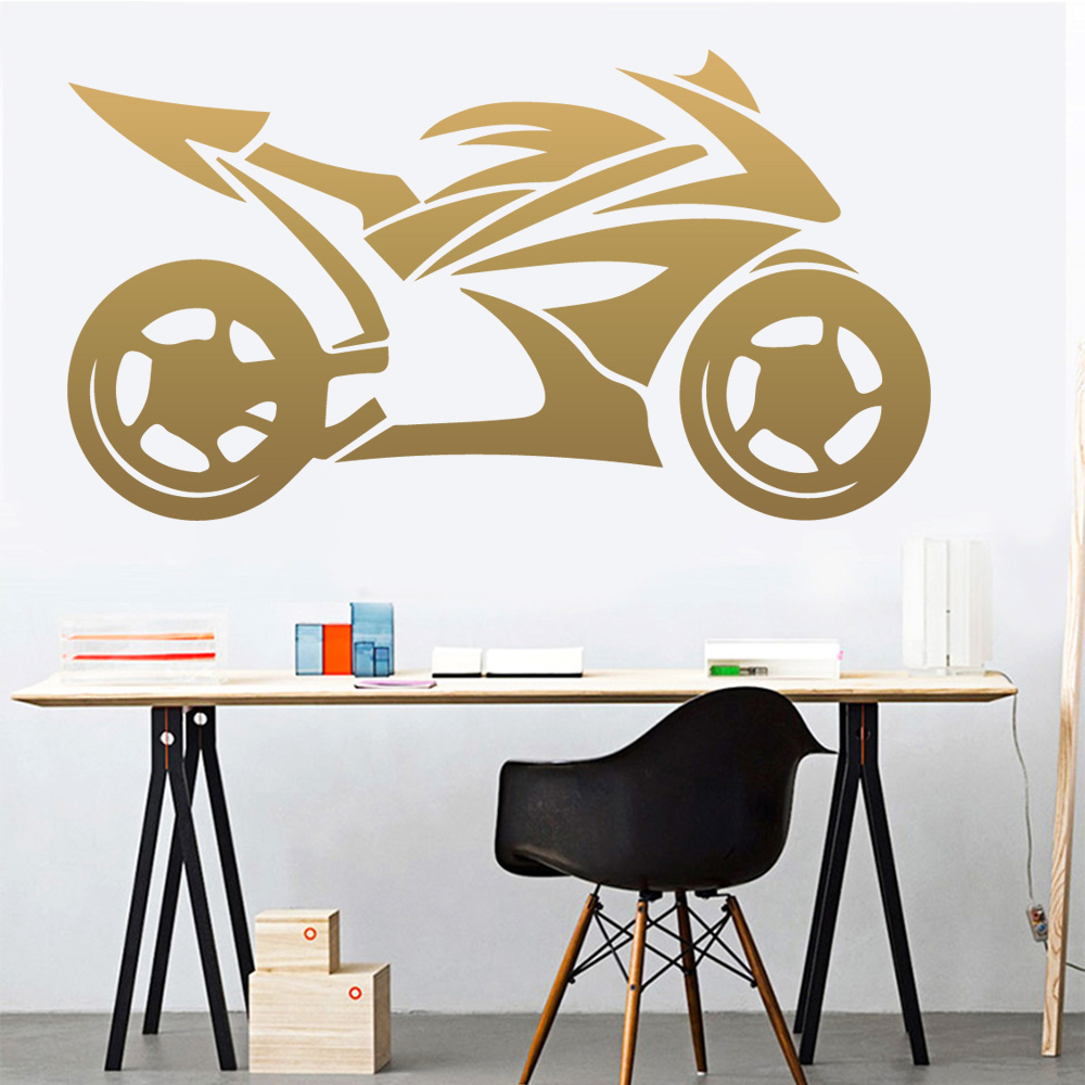Ducati Performance Wall Decal  Decor Stickers Vinyl