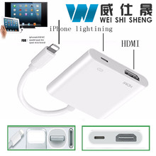 Lighting to HDMI / HDTV TV Digital Cable Adapter for Apple iPhone 5 5s 6 6s iPad Lightning Digital AV Adapter for iPhone 7 7plus