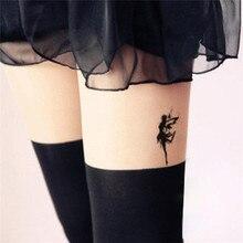 HC1051 Waterproof Fake Tattoo Women Leg Chest Sexy Temporary Sticker Fluttering Angel Fairy Girl Design Scar Cover Fast Tattoo