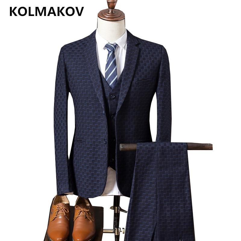 Robe Noir Pantalon bleu Hommes marine De Mariage bourgogne Bal pourpre Maigre veste Occasionnels Homme Mode Bleu Costumes Gilet Offre Vêtements Marié Spéciale Costume D'affaires Luxe 2019 RnHdYq