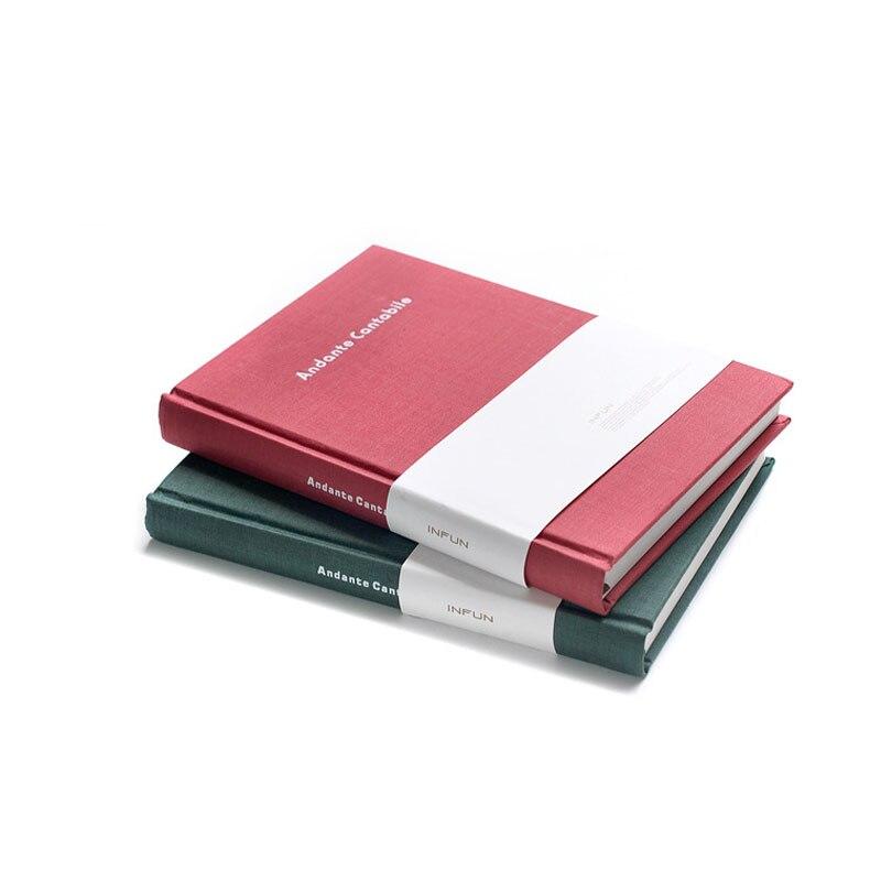 ᗖA5 Sketchbook Diario dibujo cubierta de Tela de papel 120 hojas de ...