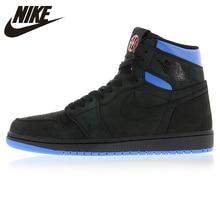 best service 25c9b 78a48 Nike Air Jordan 1 Retro Q54 Quai 54 negro rojo y azul de Baloncesto de los