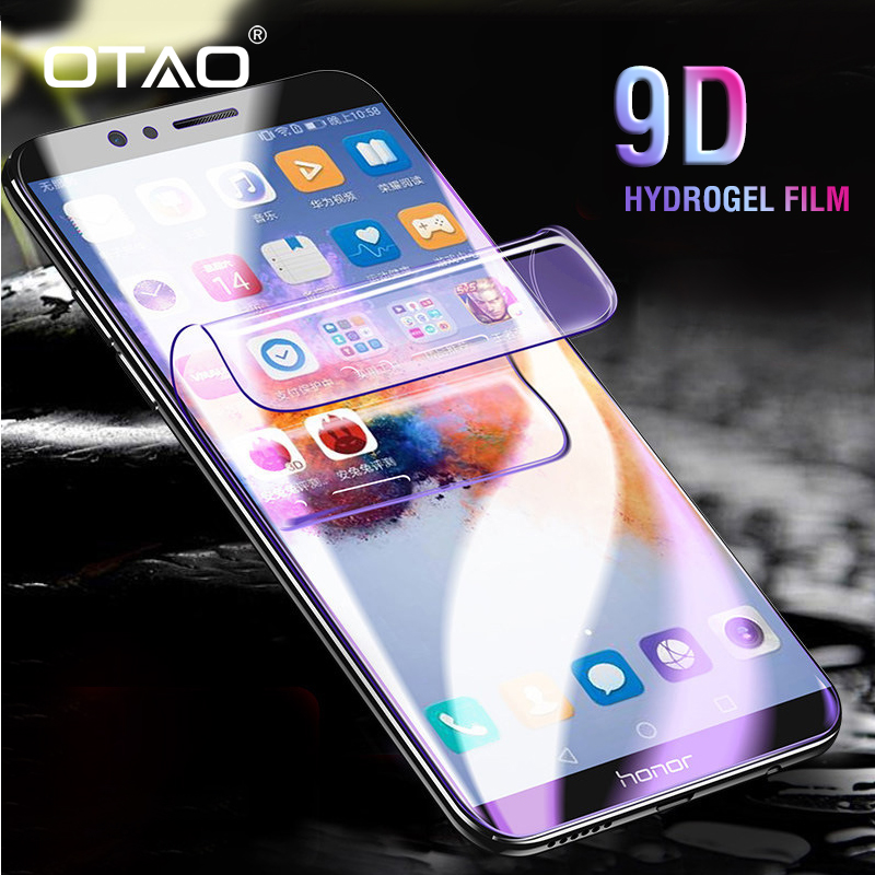 OTAO New 9D Curved Full Cover Hydrogel Film For Huawei P20 P10 P9 Lite Plus HD Screen
