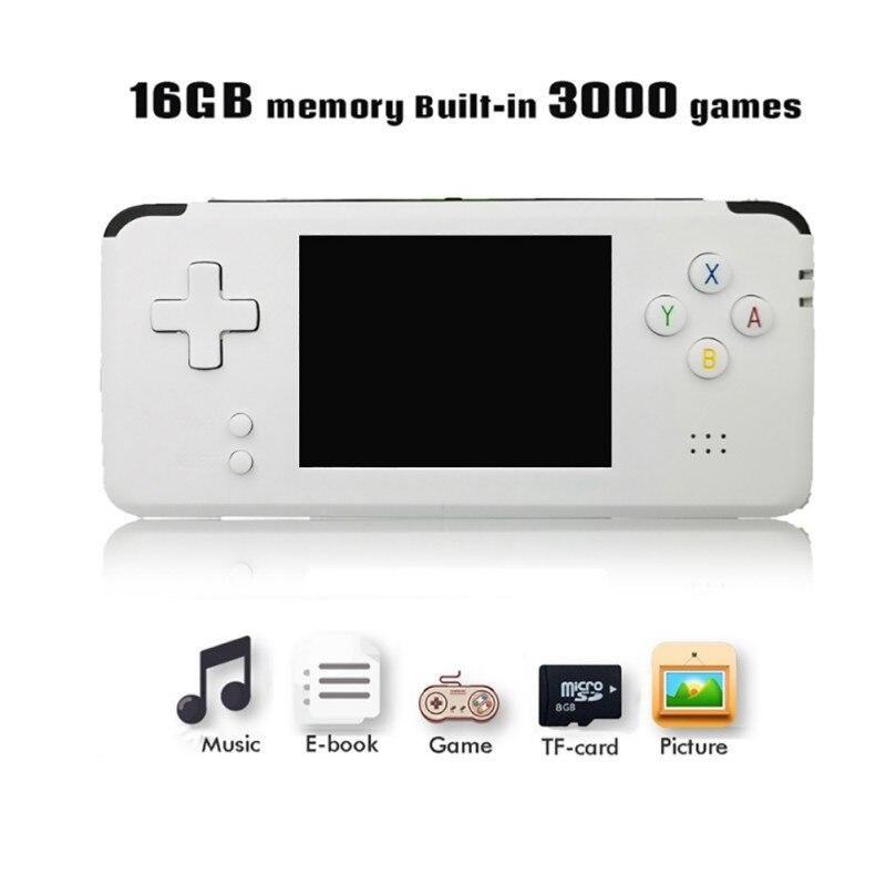 Console de jeu Portable vidéo de poche rétro 64 bits 3 pouces 3000 Console de jeu vidéo rétro de poche à RS-97 TV RETRO-GANE 07