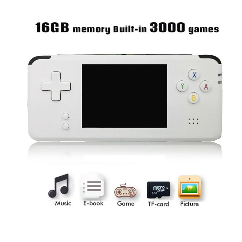 Portable Video Handheld Game Console Retro 64 Bit 3 Inch 3000 Video Game Retro Handheld Console to TV RS-97 RETRO-GANE 07 365mm steel double type truss rod for guitar repair two way rod with wrench