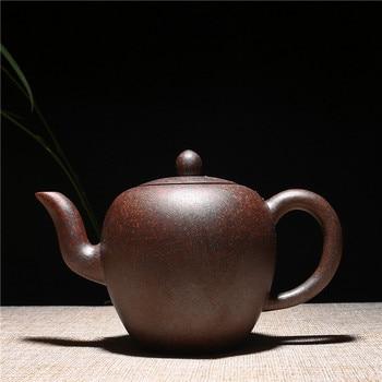 300ml Yixing Genuine Handmade Beauty Shoulder Purple Clay teapot Tradition Chinese Kung Fu Zisha Tea Pot Gift Box Free Shipping