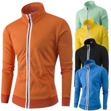 Male Casual clothes Sweater Men autumn winter Solid color jacket performance outdoors dress show Tourism outdoors