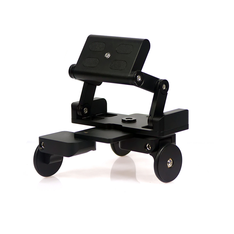 Table bureau dolly Rail voiture vidéo curseur piste trépied pour canon 80d 750D 760D nikon d600 d90 sony DSLR caméra Gopro téléphone