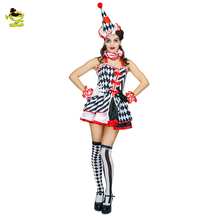 Sexy Queen of Hearts Casino Costume Short Dress Fancy Sexy Playing Cards Party  Poker Joker Queen 40661468a2ce